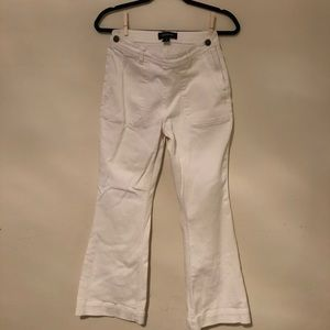 Who What Wear Cropped Flare Jeans